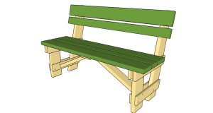 Build A Garden Seat Using Woodworking Bench Plans